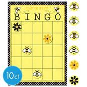Bumblebee Baby Shower Bingo Game