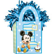 1st Birthday Mickey Mouse Balloon Weight