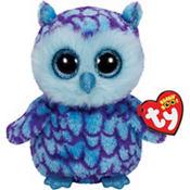 Oscar Beanie Boo Owl Plush