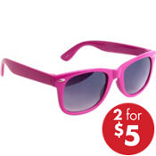 Bright Pink Sunglasses