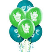 Latex Tinker Bell Balloons 6ct
