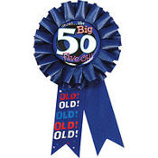 Oh No the Big 50 Award Ribbon
