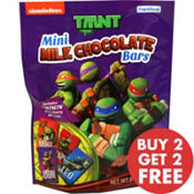 Teenage Mutant Ninja Turtles Mini Milk Chocolate Bars 18pc