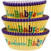 Baby Feet Baking Cups 75ct