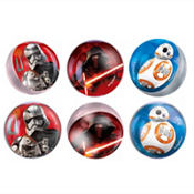 Star Wars 7 The Force Awakens Bounce Balls 6ct