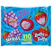 Mixed Berry Nerds & Laffy Taffy Mix 110pc