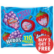 Mixed Berry Nerds & Laffy Taffy Mix 110pc