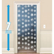 Snowflake String Hanging Decorations 7ft 6ct