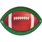 Football Platter 17in