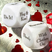 Honeymoon Decision Dice