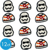 Star Wars 7 The Force Awakens Icing Decorations 12ct