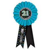 21st Birthday Award Ribbon
