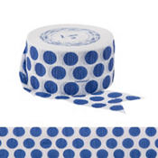 Royal Blue Polka Dot Streamer