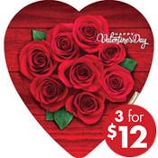 Heart Box of Chocolates 18pc
