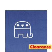 Blue Republican Lunch Napkins 16ct