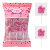 Pink It's a Girl Carriage Lollipops 36ct