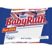 Milk Chocolate Fun Size Baby Ruth 18ct