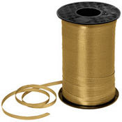 Gold Curling Ribbon 350yds