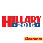 Hillary Clinton Bumper Sticker Decal
