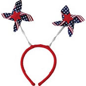 Pinwheel Patriotic Head Bopper 6in