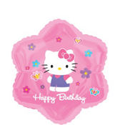 Foil Hello Kitty Balloon 18in