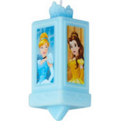 Cinderella Birthday Cake Candle 3 1/2in