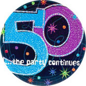 The Party Continues 50th Birthday Party Supplies