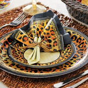 Safari Chic Leopard Print Party Supplies