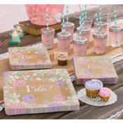 Rustic Floral Wedding Party Supplies