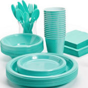 Robin's Egg Blue Tableware