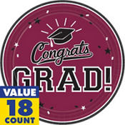Berry Congrats Grad Graduation Party Supplies