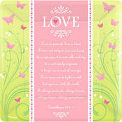 Love Is Patient Wedding Party Supplies