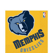 NBA Memphis Grizzlies Party Supplies