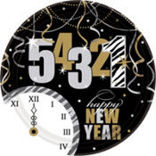 Wild Countdown New Years Party Supplies
