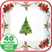 Traditional Christmas Value Plates & Tableware