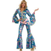 Adult Disco Mama 70's Disco Costume