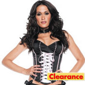 Black and Pink Park Avenue Corset Deluxe