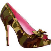Camo Open Toe Shoes