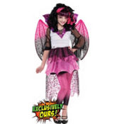 Girls Draculaura Costume Supreme - Monster High