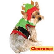 Santa's Elf Dog Costume