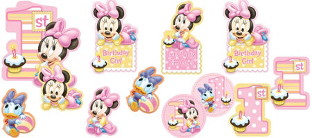 Minnie Mouse 1st Birthday Clipart 1st Birthday Minnie Mouse