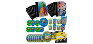 SpongeBob Favor Value Pack 48pc