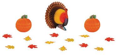 Thanksgiving Table Decorating Kit 15pc