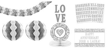 Personalized Silver Decorating Kit 13pc