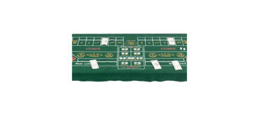 Craps Table Cover 37in x 6ft