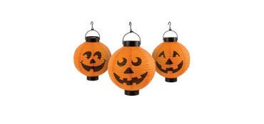 Pumpkin Lantern Lights 3ct