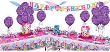 My Little Pony Party Supplies Deluxe Party Kit for 16 Guests