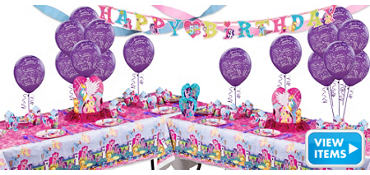 My Little Pony Party Supplies Deluxe Party Kit