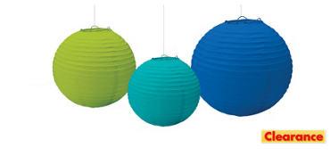 Cool Paper Lanterns 3ct
