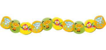 Fisher Price Printed Baby Shower Garland 8ft